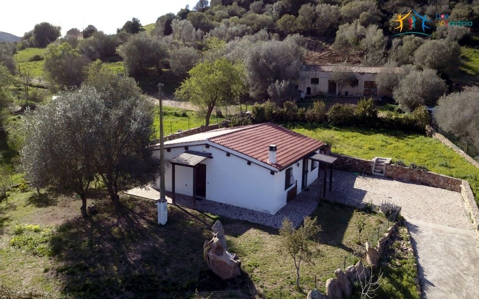 Refurbished 100 M2 Rural Home and Land for Sale 15 Km from Olbia, N.e. Sardinia