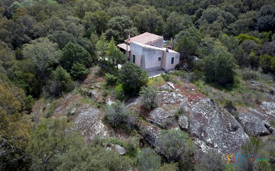 80 M2 Refurbished Farmhouse With 13 Ha Land in Calangianus, 30 Km from Olbia,north East Sardinia