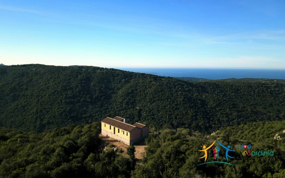 Scenic Sea Views 2,5 Ha Land and Villa for Sale Near Luogosanto, North East Sardinia