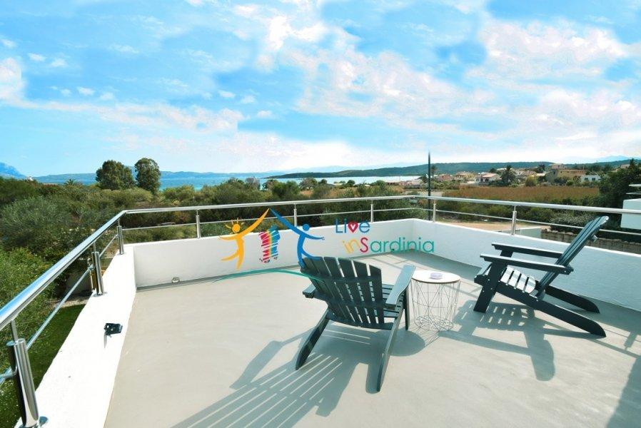 Sea Front Villa for Sale in Pittulongu, North East Sardinia