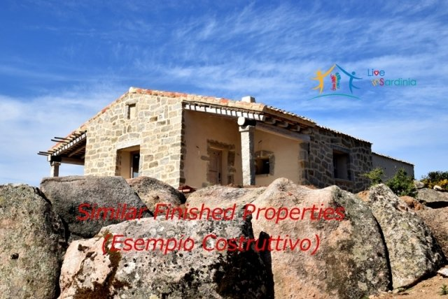 Buildable Plot for Sale in Attractive Setting in Luogosanto , North East Sardinia