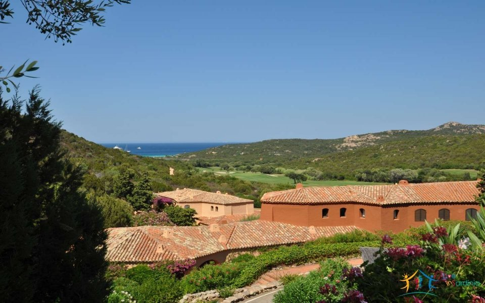 Sea View Semi-Detached House for Sale in Porto Cervo