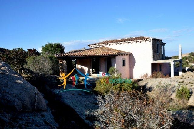Unfinished Villa On Panoramic Plot for Sale Near Arzachena, Nortern Sardinia