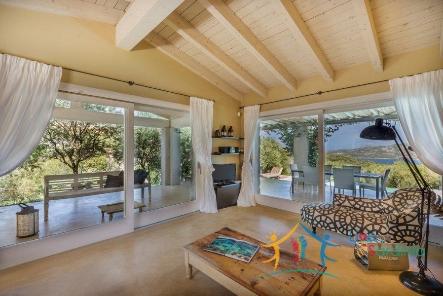 Restored 120 M2 Villa and 1.5 Ha Land With Sea Views 13 Km from Porto Cervo