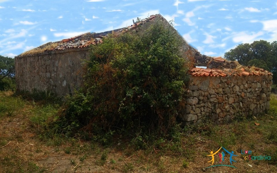 Fabolous 10 Ha Land and 86 M2 Farmhouse for Sale in Luogosanto 23 Km from Arzachena North Sardinia