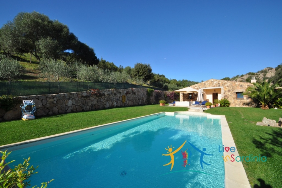 Refined Country Style Villa With 15000 M2 Land for Sale in  Costa Smeralda, North East Sardinia
