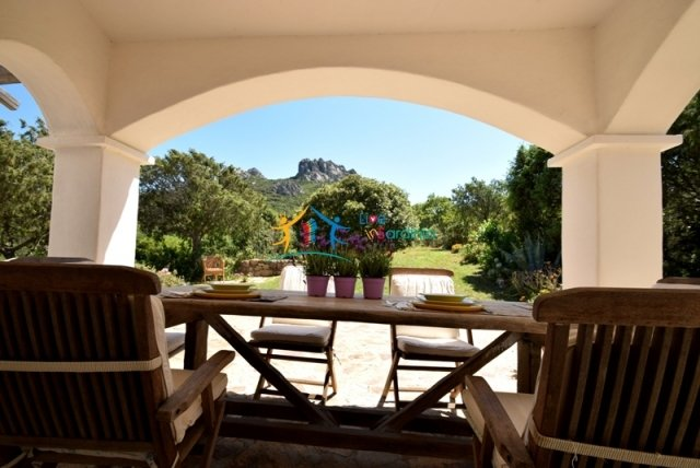 IMMACULATE 3 LEVEL VILLA AND 20.000 SQ M LAND IN SAN PANTALEO, NORTH EAST SARDINIA