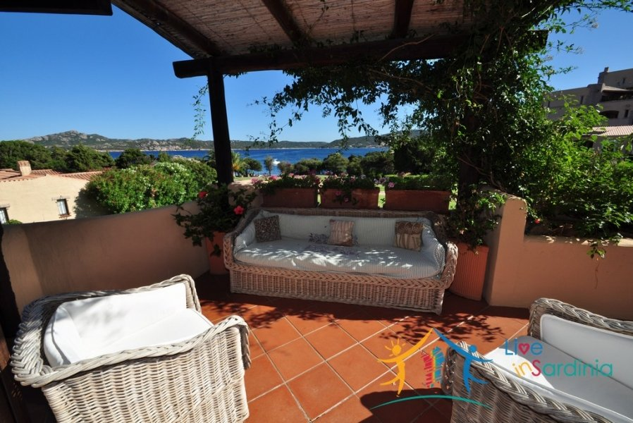Adorable Apartment With Swimming Pool for Sale Near the Beach in Cala Romantica, Porto Cervo