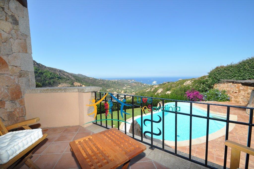 Elegant Semi-Detached for Sale with Sea View in Porto Cervo, North East Sardinia