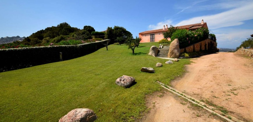 Magnificent Villas With Large Land and Sea Views for Sale Near Palau, Northern Sardinia