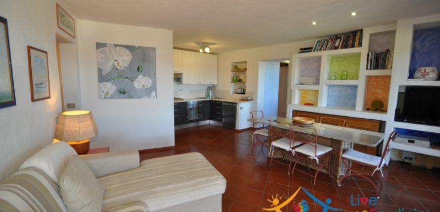 Adorable Apartment With Swimming Pool for Sale Near the Beach in Cala Romantica, Porto Cervo