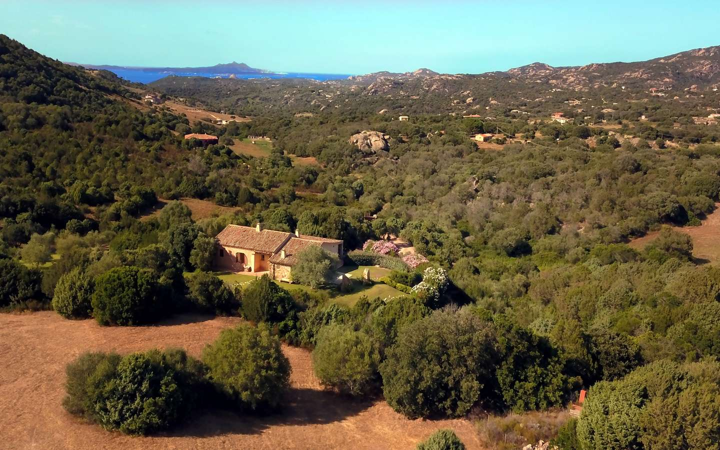 Exclusive Villa for Sale On Two Hectares Park in Costa Smeralda, North Sardinia