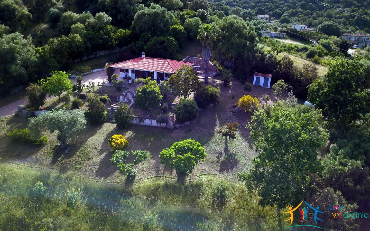 Delightful Rural Villas With 1 Ha Park For Sale Near Olbia, North Sardinia
