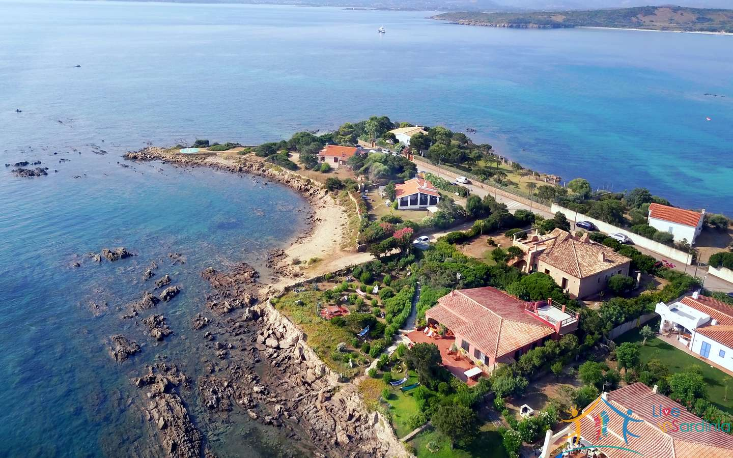 Luxury Villa For Sale In Pittulongu, Exclusive Seafront, North Sardinia
