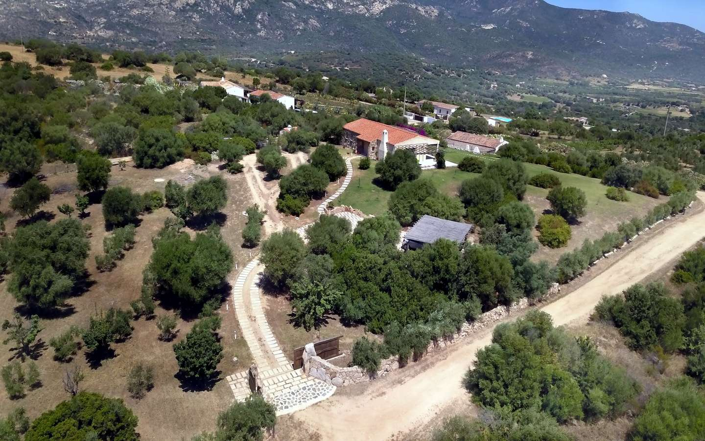 Stazzo-style Villas For Sale Near San Pantaleo, North Sardinia