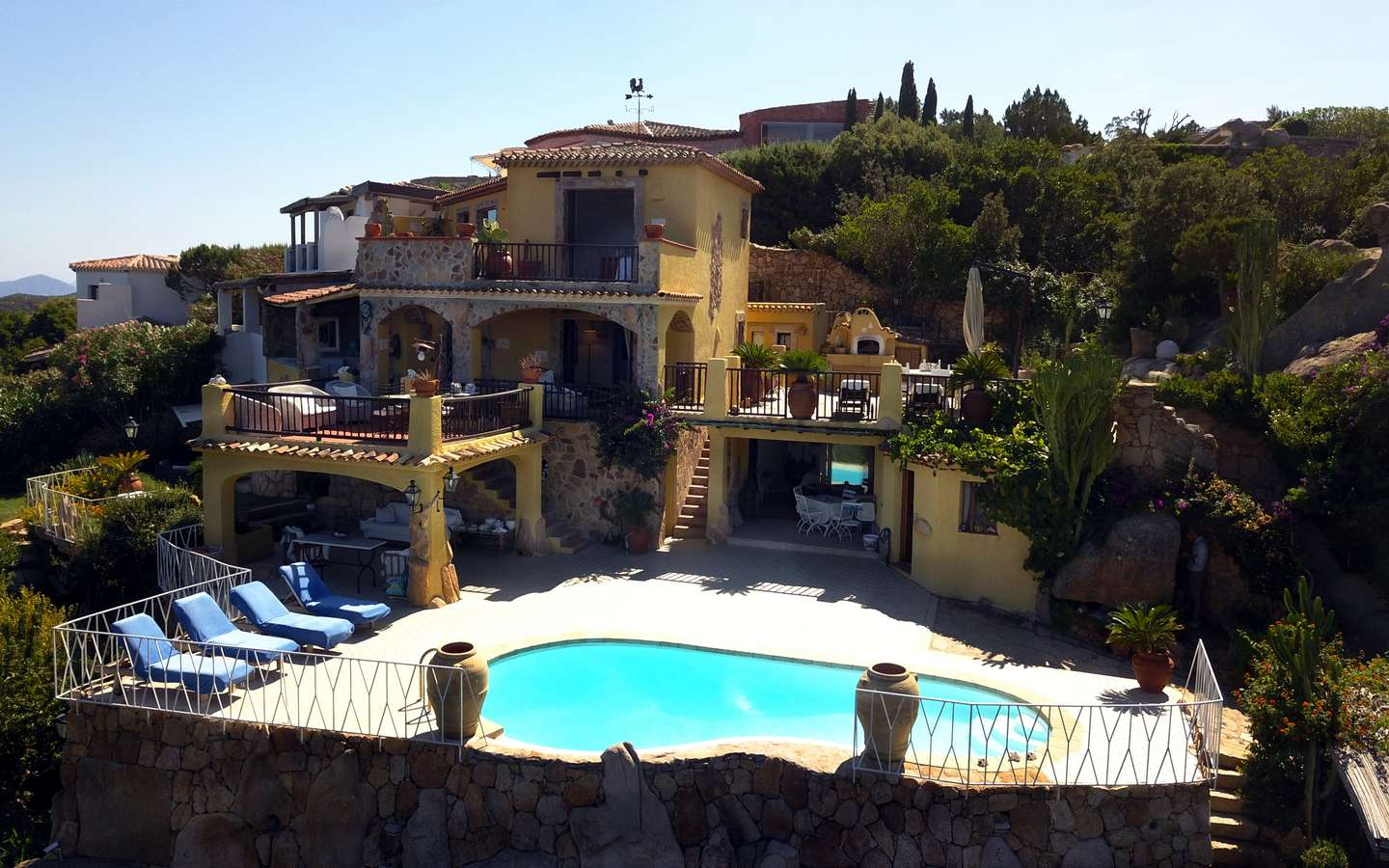Villa For Sale In Pantogia, Porto Cervo, North Sardinia