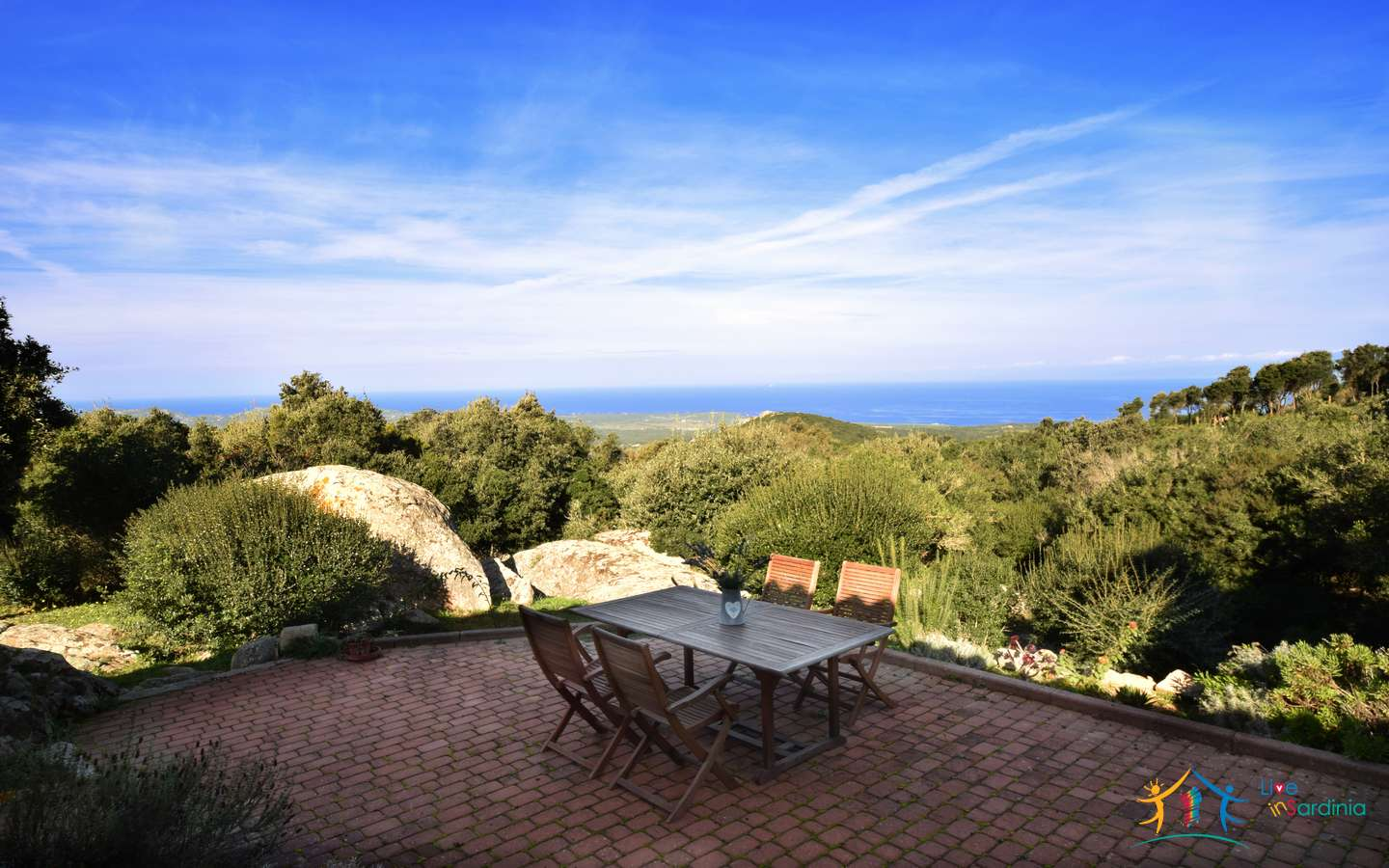Stazzu For Sale In Sardinia with beautiful sea view in Aglientu