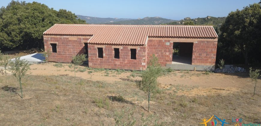 Unfinished Country Homes For Sale Porto Cervo With 8 Ha Land