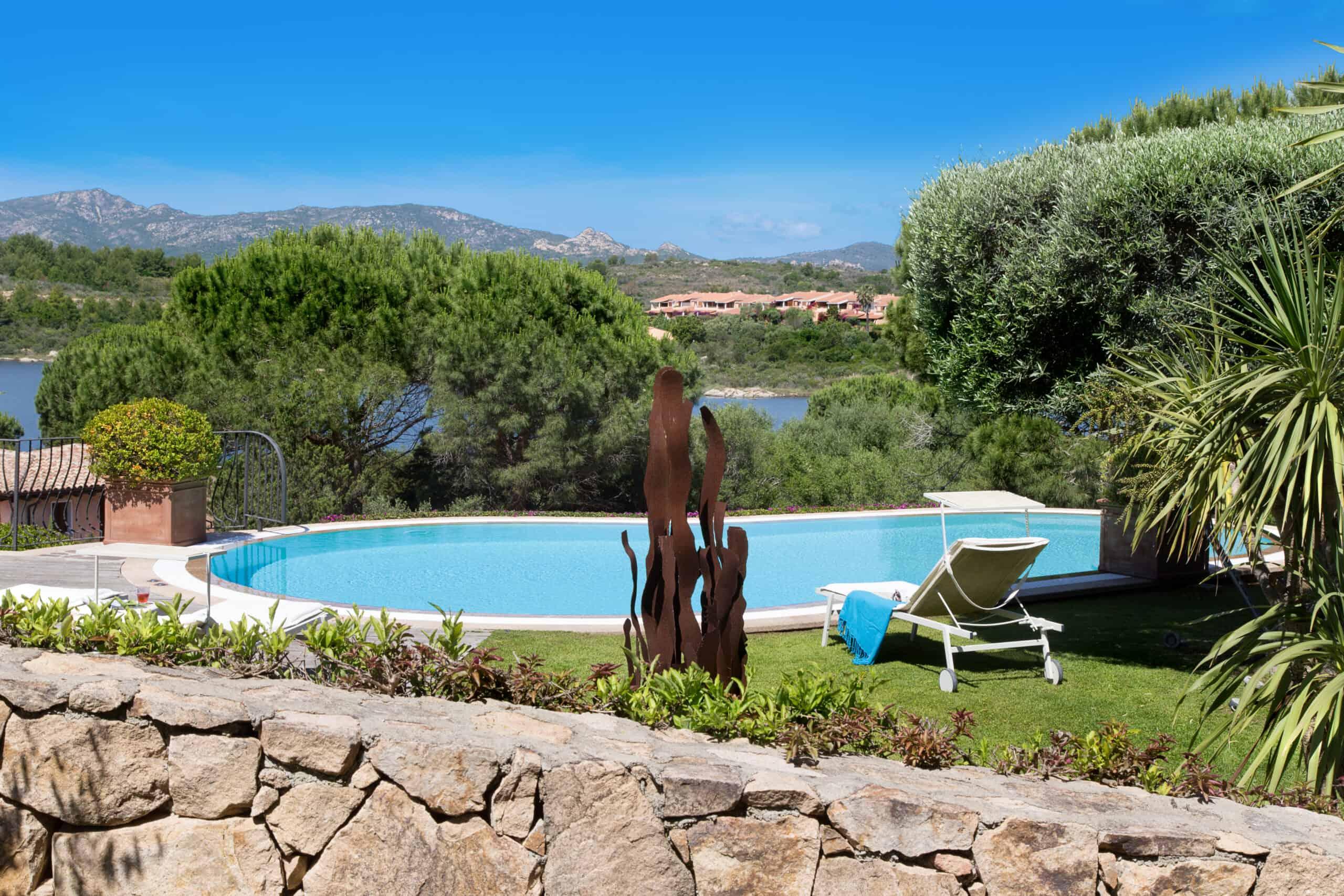 Stupendous Villa For Rent With Pool And Sea View in Capo Coda Cavallo Sardinia ref Clara